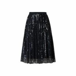 Rumour London - Fairy Midi Sequined Skirt In Black