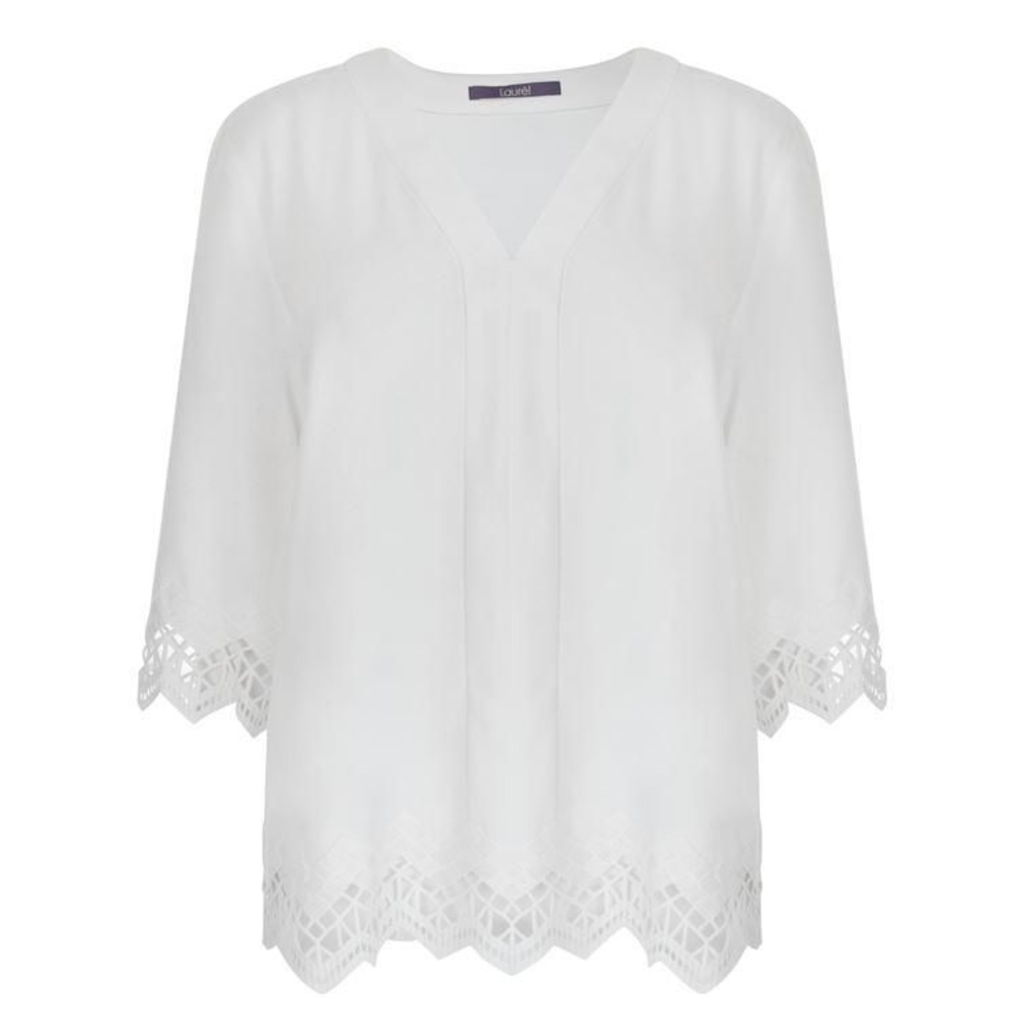 Laurel Trim Blouse