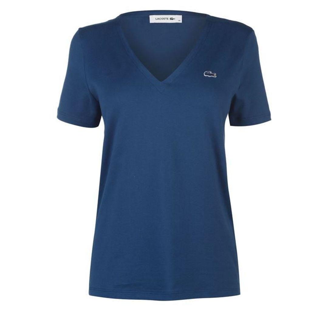 Lacoste V Neck T Shirt