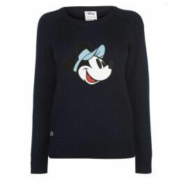 Lacoste Mickey Crew Neck Sweater