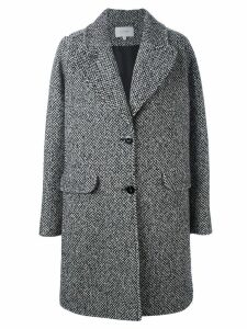 Carven single breasted coat - Black