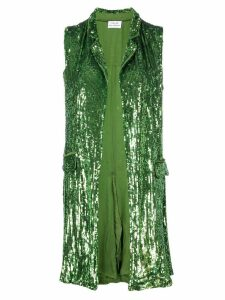 P.A.R.O.S.H. sequin waistcoat - Green