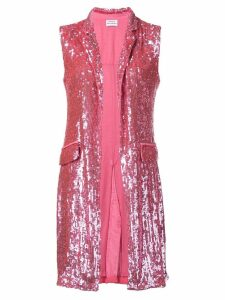 P.A.R.O.S.H. sequin waistcoat - Pink