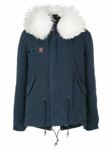 Mr & Mrs Italy customisable mini parka - Blue