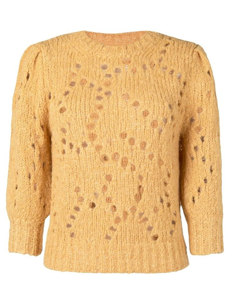 Isabel Marant Étoile Sinead sweater - Yellow