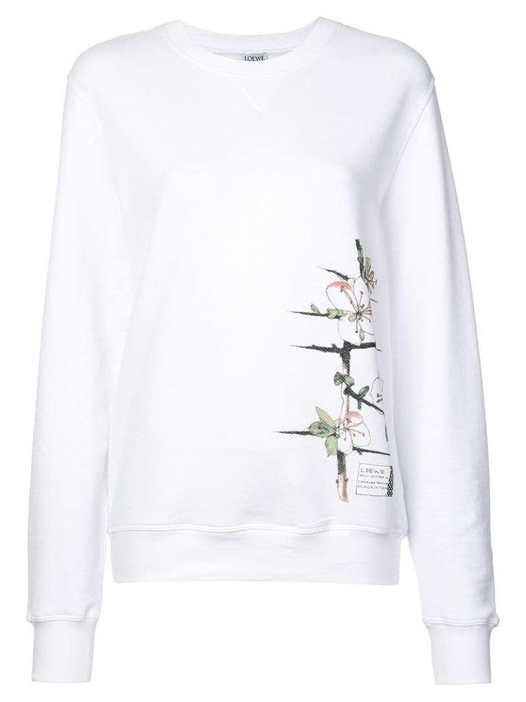 Loewe x Charles Rennie Mackintosh sweatshirt - White