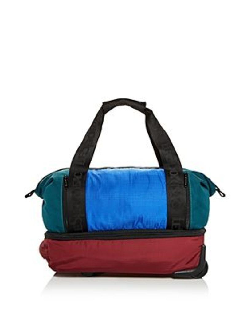 LeSportsac Dakota Color-Block Nylon Roller Duffel Bag