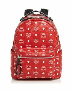 Mcm Stark Backpack with Logo Visetos