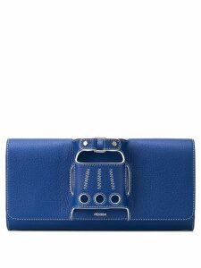 Perrin Paris Le Cabriolet clutch - Blue