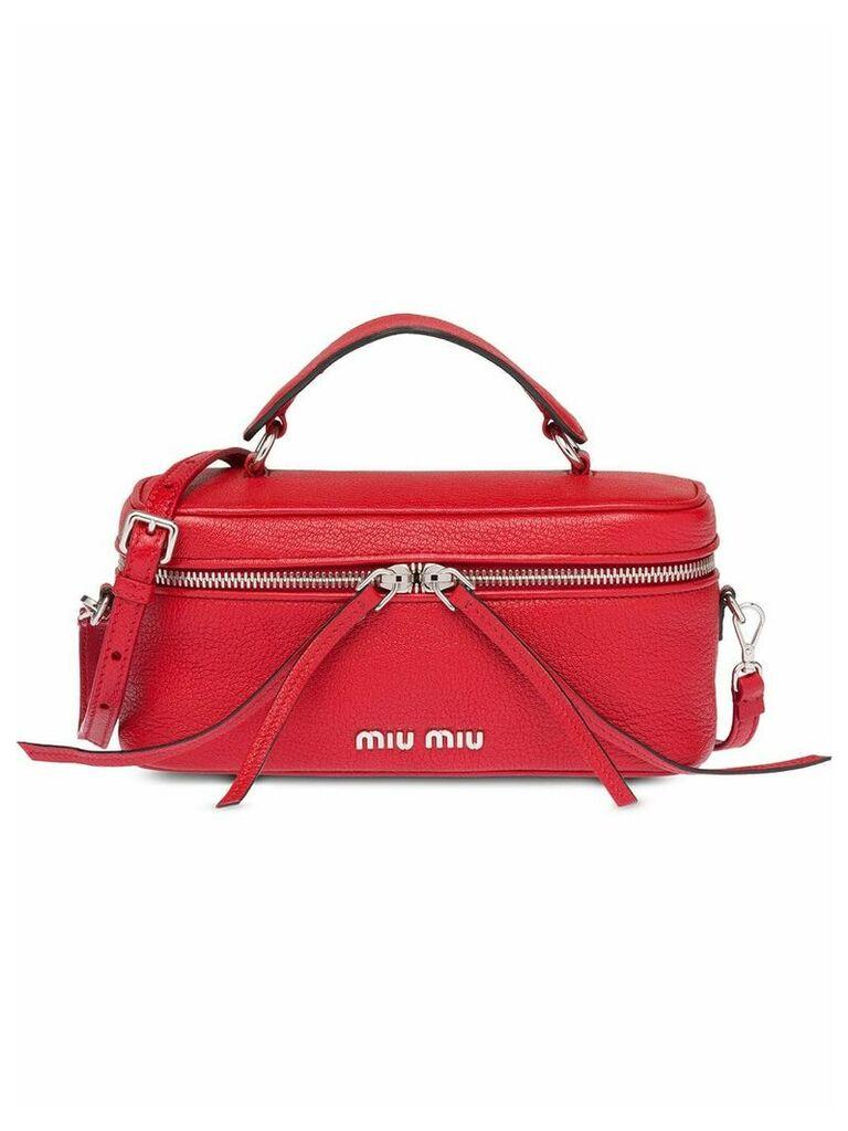 Miu Miu top handle shoulder bag - Red