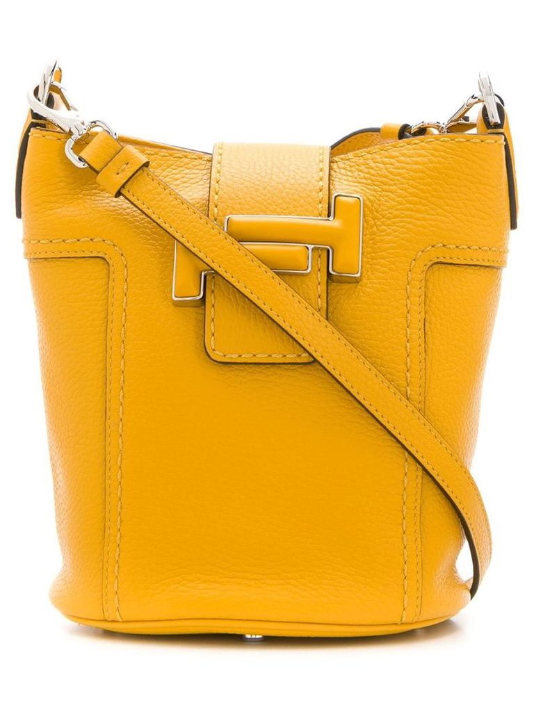 Tod's Double T bucket bag - Yellow