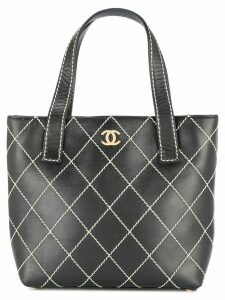 Chanel Pre-Owned Wild Stitch hand bag - Black