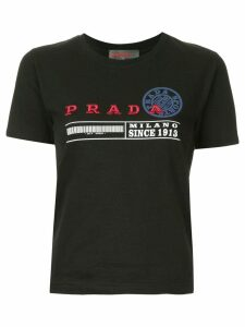 Prada Pre-Owned short sleeve top - Black