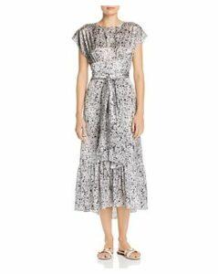 Paper London Como Midi Dress