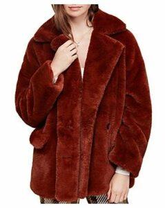 Free People Kate Faux Fur Coat