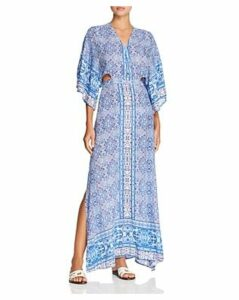 Surf Gypsy Paisley Maxi Dress Swim Cover-Up