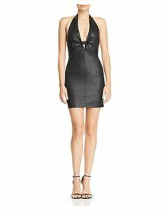 alexanderwang.t Leather Mini Dress