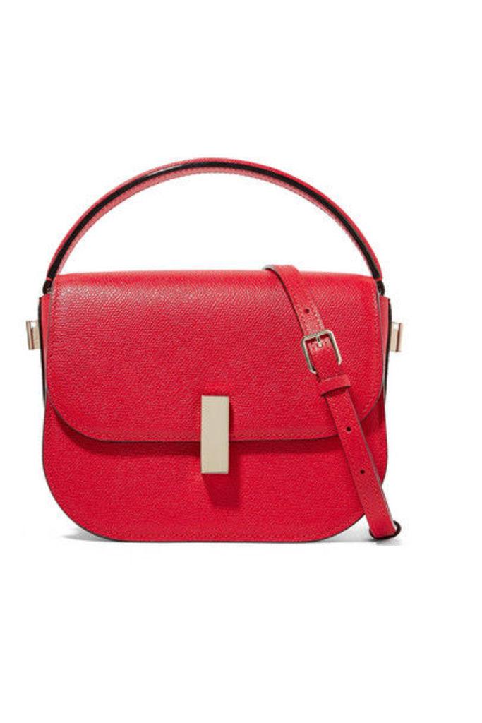 Valextra - Iside Textured-leather Shoulder Bag - one size