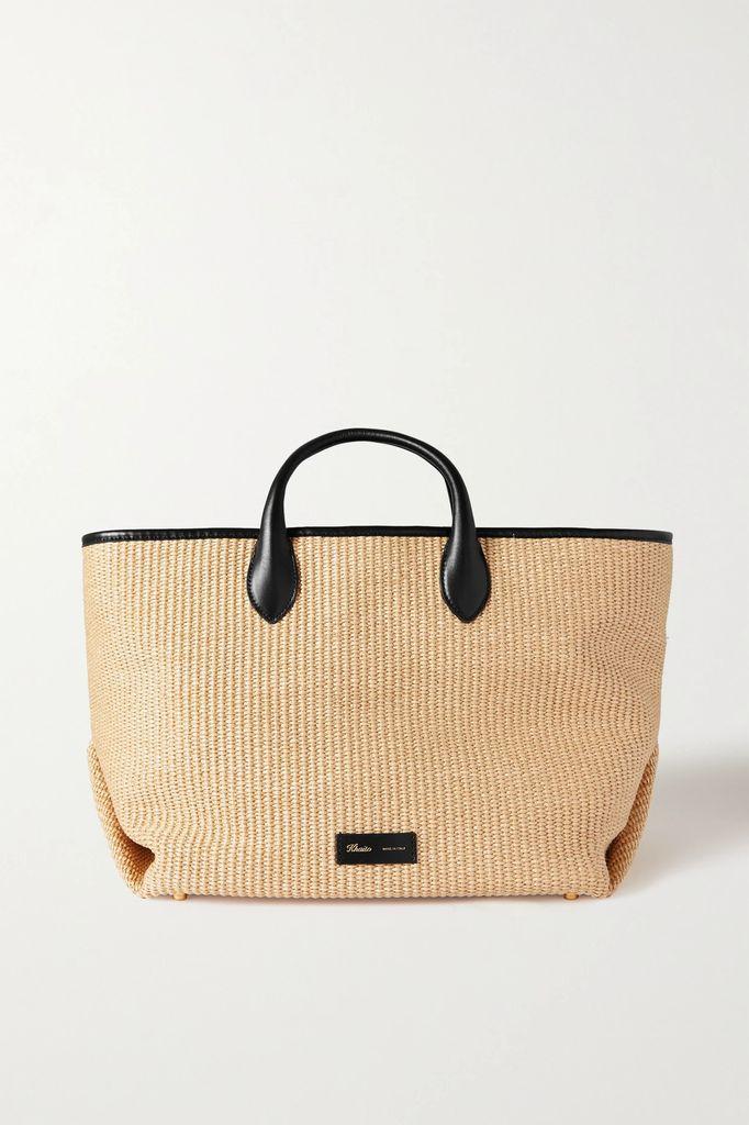 MM6 Maison Margiela - Oversized Paneled Wool-blend Fleece And Canvas Jacket - Off-white