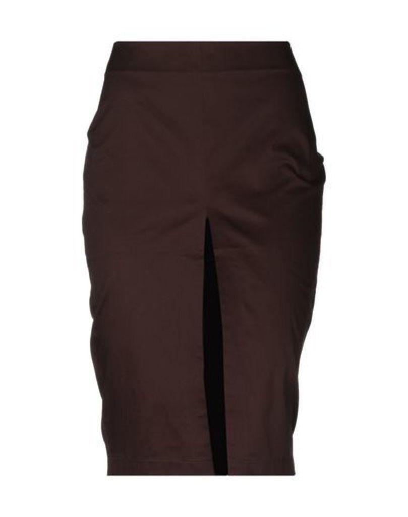 CLÒ CLÒ SKIRTS Knee length skirts Women on YOOX.COM