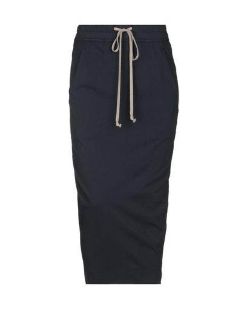 DRKSHDW by RICK OWENS SKIRTS 3/4 length skirts Women on YOOX.COM