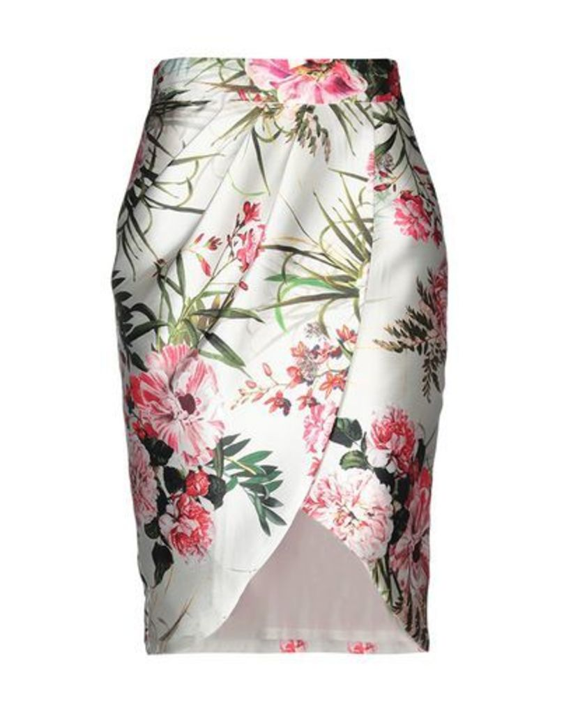 SARA RUIZ by MSA SKIRTS Knee length skirts Women on YOOX.COM