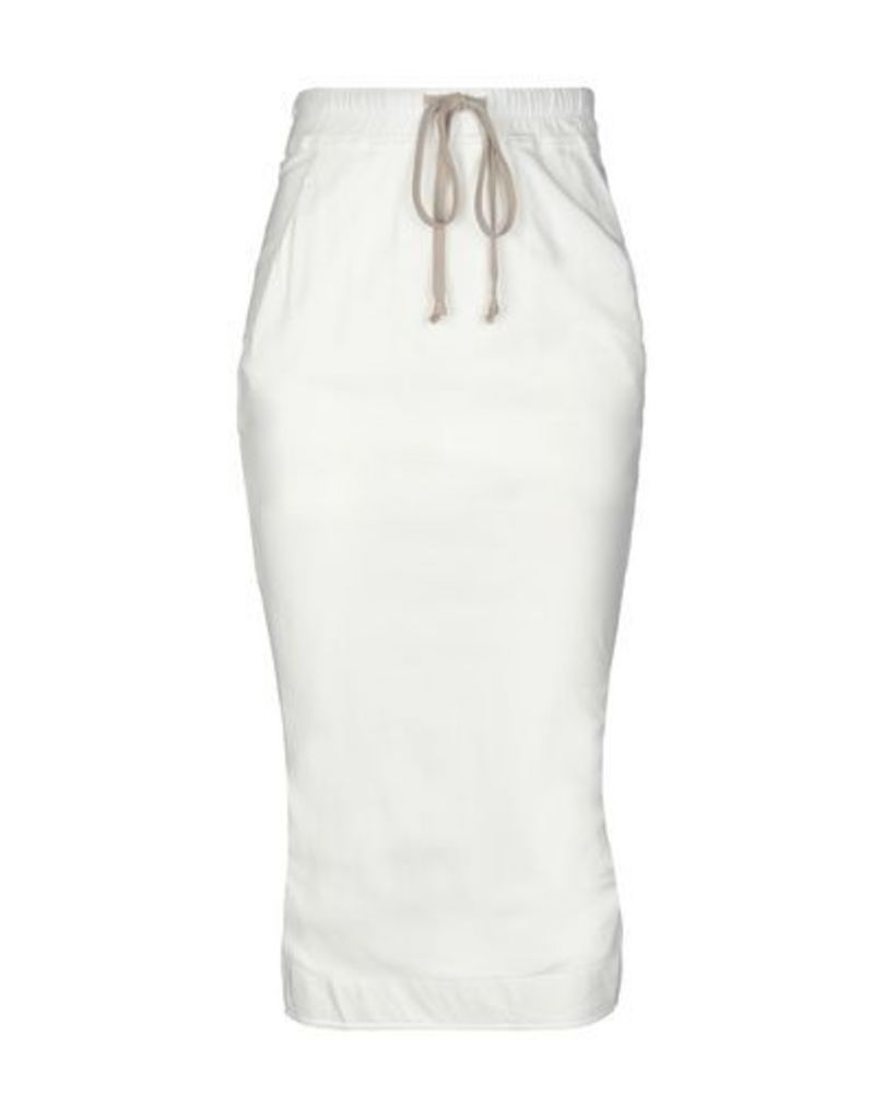 DRKSHDW by RICK OWENS SKIRTS 3/4 length skirts Women on YOOX.COM