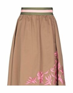 BAZAR DELUXE SKIRTS Knee length skirts Women on YOOX.COM