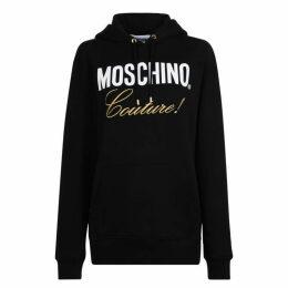 MOSCHINO Logo Hooded Sweatshirt