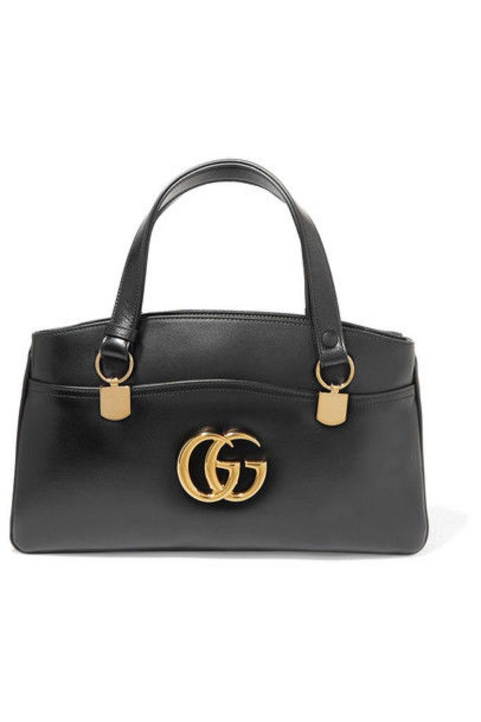 Gucci - Arli Large Leather Shoulder Bag - Black