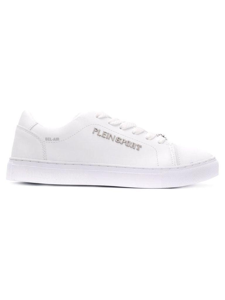 Plein Sport classic low-top sneakers - White