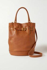 Marc Jacobs - Striped Silk-georgette Maxi Dress - Black
