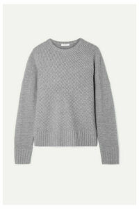 Equipment - Abril Ribbed Wool And Cashmere-blend Sweater - Gray