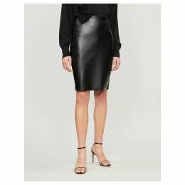 Estella leatherette pencil skirt