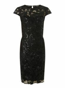 Womens **Showcase Black 'Cade' Bodycon Dress- Black, Black