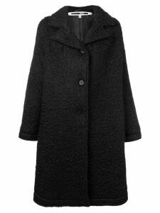 McQ Alexander McQueen oversized midi coat - Black