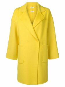 P.A.R.O.S.H. Lottie single breasted coat - Yellow