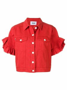 MSGM short-sleeved jacket - Red