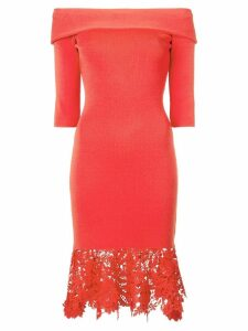 Sachin & Babi off-the-shoulder dress - Red
