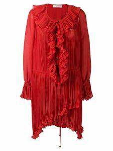 Philosophy Di Lorenzo Serafini ruffle short dress - Red