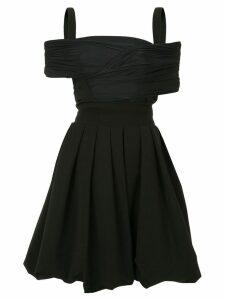 Preen By Thornton Bregazzi Cilla Ted Dress - Black