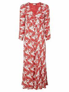 Rixo Diana floral print dress - Red