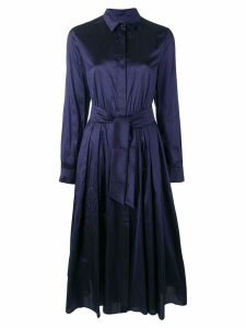 Max Mara Exploit shirt dress - Blue