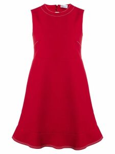 Red Valentino cut-out shift dress