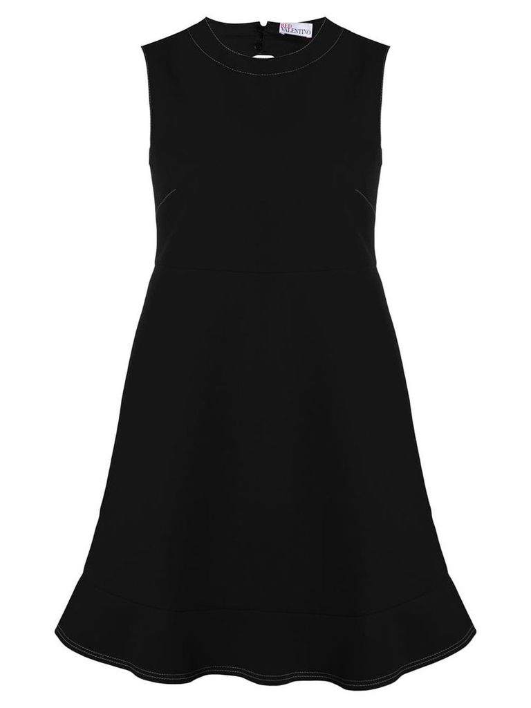Red Valentino cut-out shift dress - Black