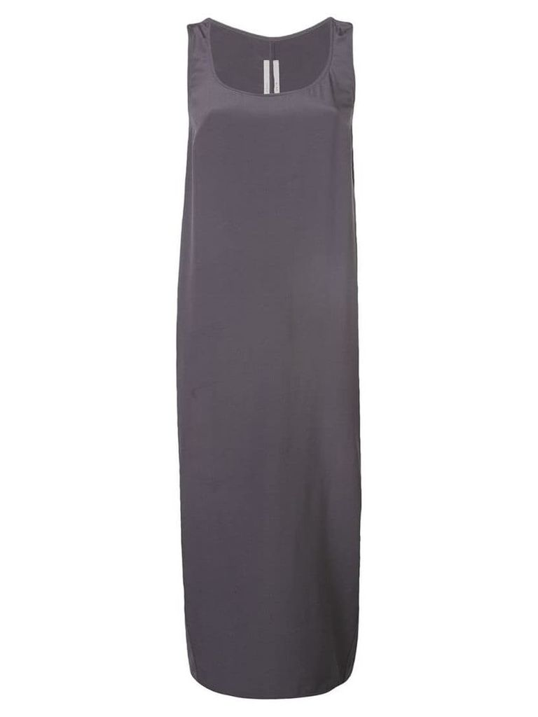 Rick Owens sleeveless shift dress - Grey