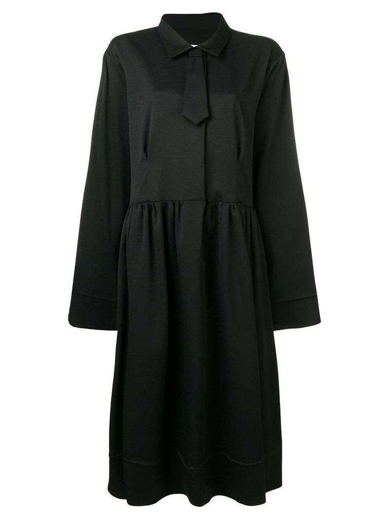 Mm6 Maison Margiela tie detail dress - Black