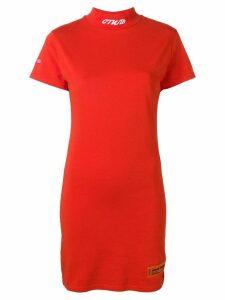 Heron Preston T-shirt fit dress - Orange