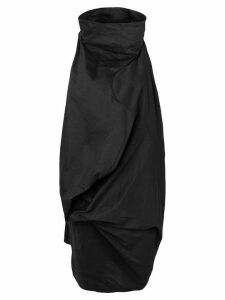 Rick Owens asymmetric dress - Black
