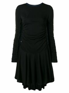 See By Chloé ruched detail short dress - Black